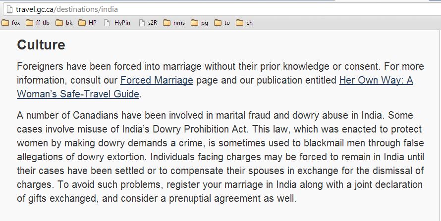 Canada-govt-travel-advisory-india-marriage-forced-fraud