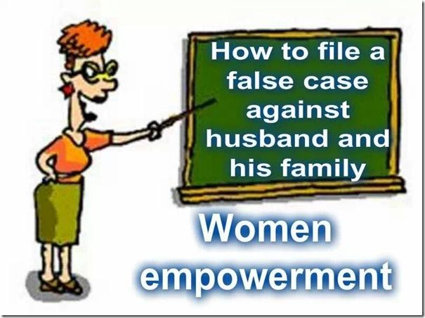 how to file false case woman blackboard