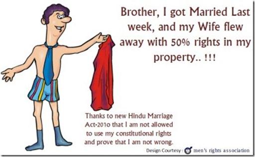 man shirt gone 50% property IrBM marriage amendment bill 400