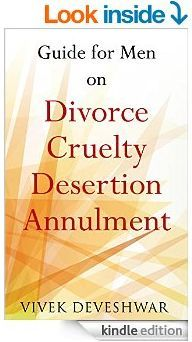 Book: Guide for men on Divorce, Cruelty, Desertion, Annulment