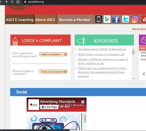 ASCI Online Homepage