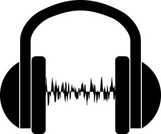 headset audio wave image